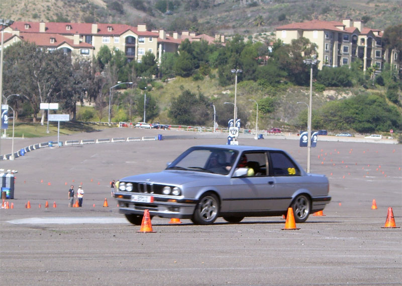 SDBMWCCA Autocross 01/02/09 (5mo!) CIMG5652r1